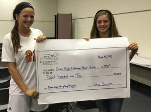 Davie High National Honor Society Recycling Program